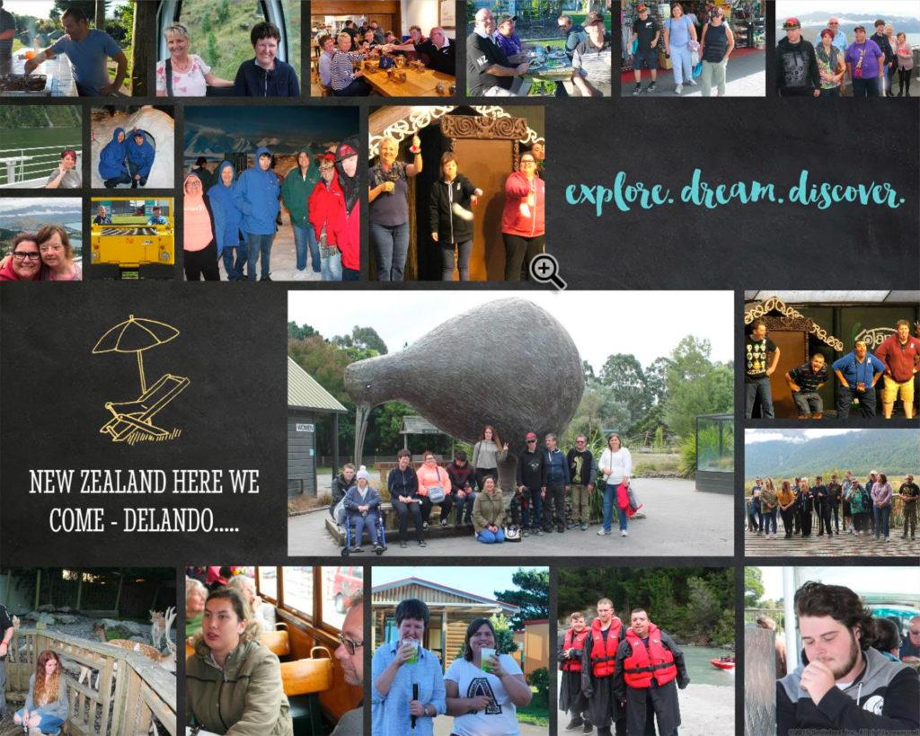 Delando Explores New Zealand